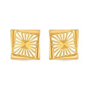 22kt Gold Earrings For Women - Reliance Jewels
