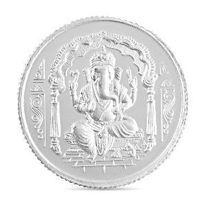 10 Gram Ganesh Silver Coin