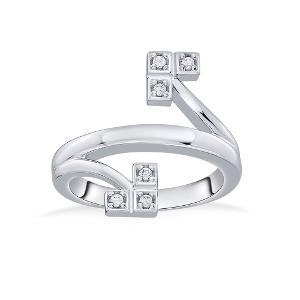 You & Me Silver Ring - Reliance Jewels