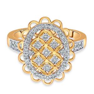 14kt Gold Diamond Ring - Reliance Jewels