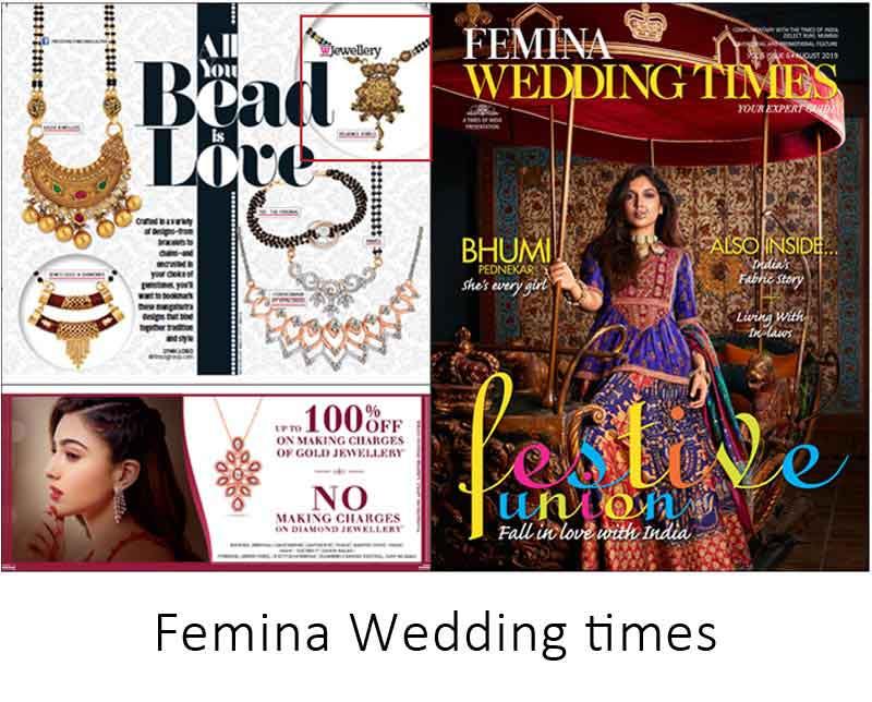 Reliance Jewels In Femina Wedding Times