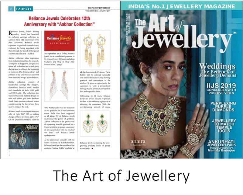 The Art Of Jewellery - Reliance Jewels