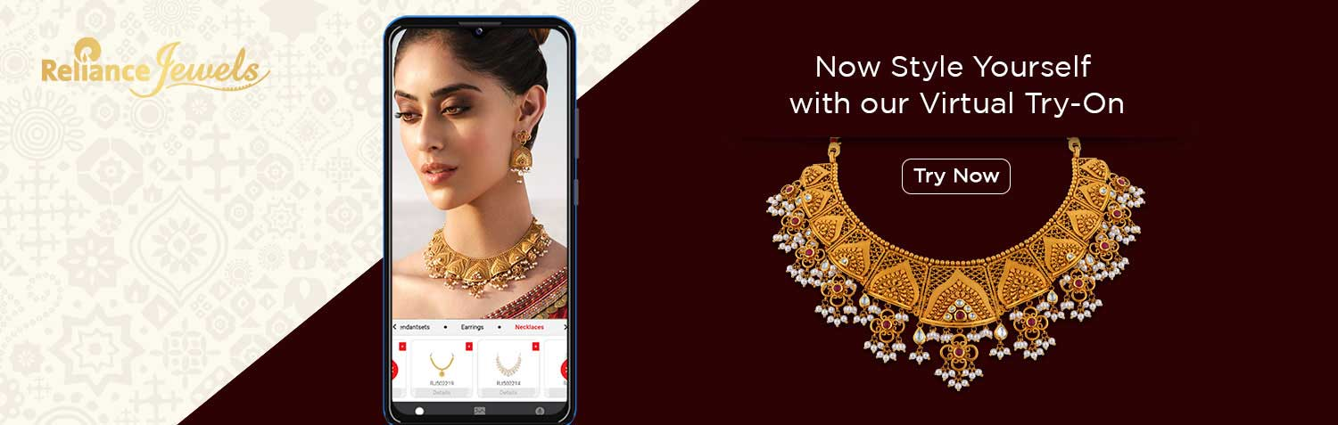 Virtual Try On -Try Our New Feature For Trying Jewellery Online | Reliance Jewels